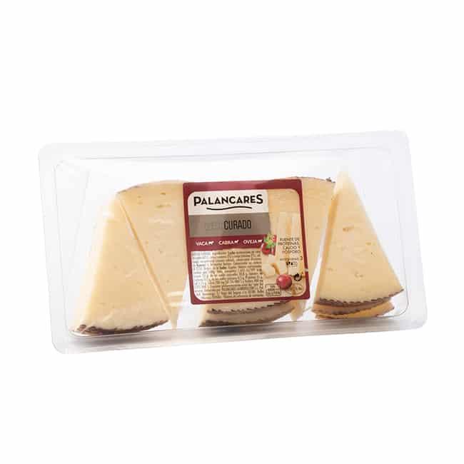 Tapa de queso Curado de Cabra