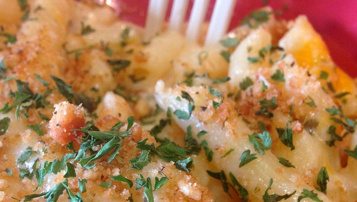 receta de macarrones a los 4 quesos