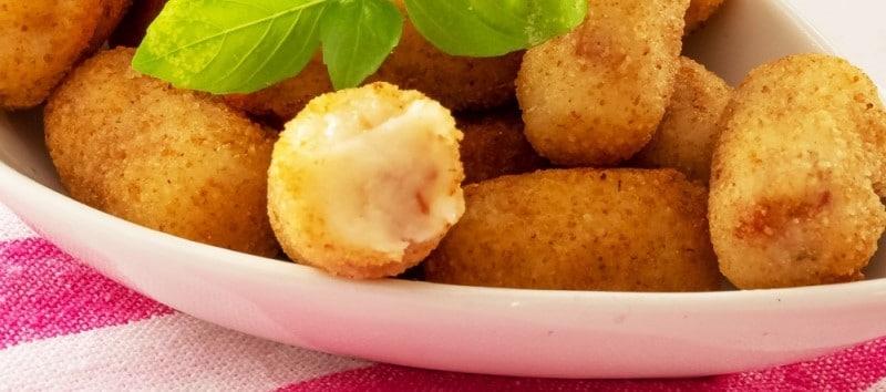 La mejor receta de croquetas de queso